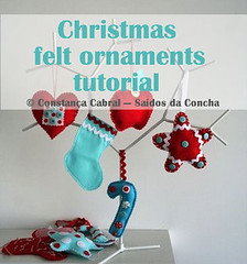 xmas felt ornaments :: how to (Sados da Concha) Tags: christmas xmas natal navidad handmade sewing felt noel instructions feltro tutorial stepbystep saidosdaconcha constancacabral
