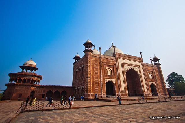 Buildings Around Taj Mahal