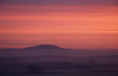 Wrekin sunrise - 3rd time lucky (Steve Bird1) Tags: mist sunrise shropshire hill wrekin lyth