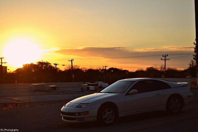 300zx nissan twinturbo illest sunset sky photography nikon d3100