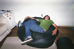 (beta pires) Tags: boy film analog 35mm room tired unconscious vagabundo diegopaz