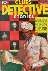 077 Clues Detective Stories Sep-1935 Includes Death Rides an Elephant by E. Hoffmann Price (CthulhuWho1 (Will Hart)) Tags: fiction trooper elephant price magazine death 1930s hoffmann william an september will cover e edgar hart rides sep pulp stories hoffman clues detective 1935 williamhart willhart ehoffmannprice cthulhuwho1 cthulhuwho1com ehoffmanprice hoffmannprice hoffmanprice edgarhoffmannprice edgarhoffmanntrooperprice
