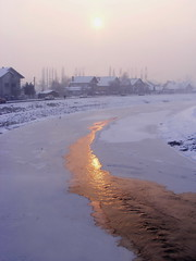 Ice reflection (dobro_drvo) Tags: morning winter cold reflection ice river ray serbia led zima srbija reka odraz jutro hladno zajear zrak timok mygearandme mygearandmepremium ringexcellence dblringexcellence