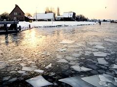 Noord Hollands kanaal (johan wieland) Tags: ijs winter kanaal frozen wak koedijk alkmaar jwtea