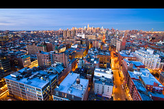 Midtown Manhattan & SoHo in Blue & Orange (RBudhu) Tags: newyorkcity soho midtown gothamist curbed gawker