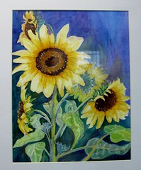 Sunflowers -Watercolor