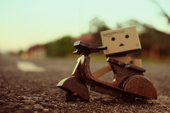 mr.danbo (ziqa herry) Tags: photography vespa bokeh danbo danboo