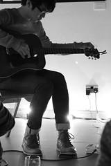 Charlie Lim (Leodensian) Tags: music white black mono gallery guitar live yorkshire leeds acoustic hendrix cloth jimi sounds leodensian sofarmarch