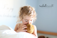 April 5 : Sweet (RachelBrandtPhotography) Tags: girl child daughter teddybear littlegirl blondegirl littlegirlwithteddybear