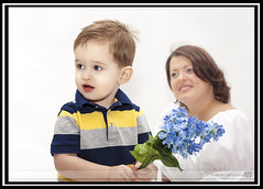 The Loving Look (The_DogArtist) Tags: family boy portrait love look loving mom child mother