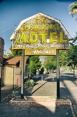 FARMHOUSE MOTEL (PhotographerJamesOrtiz) Tags: california ca house abandoned farmhouse nikon highway riverside farm motel route forgotten interstate roadside 395 urbex bando d5100