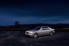 IMG_3575 OK (Ondej Zeman) Tags: car night photography mercedes benz e w210