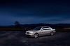 IMG_3575 OK (Ondřej Zeman) Tags: car night photography mercedes benz e w210