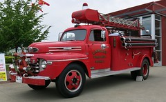 1948 Mercury M-155 Fire Truck / Langley Fire Dept. (Zone 1), B.C., Canada (Custom_Cab) Tags: city rescue canada ford 1948 truck fire one 1 bc mercury 911 engine columbia canadian aerial firetruck service british ladder emergency department langley 1950 zone services 1949 dept pumper f6 zone1 cityoflangley m155