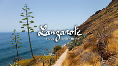 Lanzarote - Ben Heine Music (Ben Heine) Tags: trees sea music nature beautiful beauty landscape island seaside guitar lanzarote tribal ethnic worldmusic canaryislands benheinephotography benheinemusic