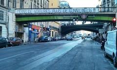 Vu sur Facebook (nic0v0dka) Tags: grève cuni revendication banderole pont marseille