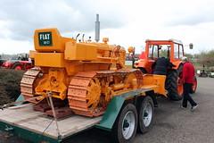 OM Fiat 50 CL bulldozer (Davydutchy) Tags: auto orange classic car ride fiat rally april oldtimer om rit 50 cl bulldozer drachten youngtimer 2016 klassiker ausfahrt vetern klassieke sligro vergngungsfahrt zesdorpentocht sligrorit