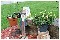 IMG_8233 (sally_byler) Tags: flowers ohio summer garden sam uncle patriotic pots hanging