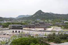 Gyeongbokgung Palace (Patrick Vierthaler) Tags: above south palace korea seoul palast dynasty gyeongbokgung gwanghwamun  joseon    gyongbokgung   choson