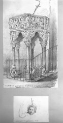 jc harris 1852 pulpit (Samej) Tags: italy pencil cathedral pulpit standrew giovannipisano jcharris pievedisantandrea jamescharlesharris sanandreapistoia