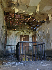 A Terrible Beauty Is Born (Doom vs) Tags: house abandoned rotting stairs decay derelict bannister ontarioabandoned