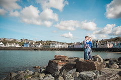 Fiona and Ben - Enagagement (Dan Baillie) Tags: portrait love water scotland engagement seaside couple harbour romance portpatrick galloway environmentalportrait wigtownshire