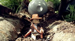 indiana jones and the secret of the death star #2 (freshpdda) Tags: toys lego boulder spielzeug indianajones deathstar todesstern