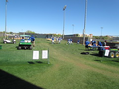 Training in Session at Surprise Stadium -- Surprise, AZ, March 09, 2016 (baseballoogie) Tags: arizona canon baseball stadium az powershot surprise ballpark springtraining royals kansascityroyals cactusleague baseballpark surprisestadium 030916 sx30is canonpowershotssx30is baseball16