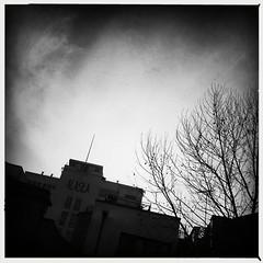 Alaska Factory, Bermondsey (firstnameunknown) Tags: building london monochrome alaska architecture blackwhite factory gilbert bermondsey artdeco wallis iphoneography hipstamatic