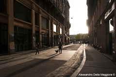Street of Budapest (Alessandro Della Maggiora) Tags: street city travel light hungary budapest streetphotography traveller streetphoto viaggi viaggio ungheria trave alexdm