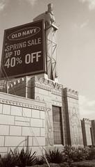 Fuji Tiara ix Citadel 2 () Tags: california camera classic film japan architecture vintage mall los fuji angeles citadel retro southern fujifilm outlet aps assyrian