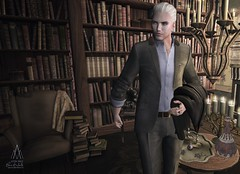 #224. Always closest to the flame (Gui Andretti) Tags: world life street boy playing man game male men guy classic hair living model mesh avatar wear clothes suit attitude virtual second trousers acessories elegance kauna noproject mensdept davidheather realitty fameshed skinapplier clefdepeau