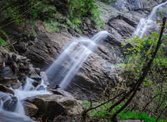 Wasserfall-0874 (math.buechel) Tags: color nature water berg schweiz switzerland waterfall nikon wasser suisse wasserfall natur bach kandersteg farbe d7000 nikond7000