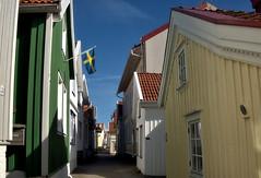 Gamla Stan, Old Town, Lysekil, WestCoast of Sweden (JRJ.) Tags: sea summer seascape water landscape village waterfront sweden outdoor fjord bathing westcoast