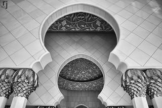 The Arches, Sheikh Zayed Grand Mosque, Abu Dhabi