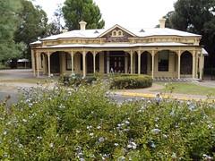 Hughes Park House.  Unley. Adelaide. It is now Unley Community Centre. (denisbin) Tags: communitycentre adelaide plumbago italianate unley historichouse grandhouse hughespark baywidows