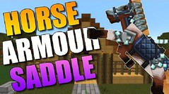 Craftable Horse Armour and Saddle Mod (MinhStyle) Tags: game video games gaming online minecraft