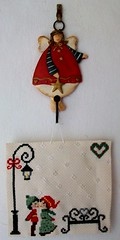 kiss (LaPaTs) Tags: christmas cross stitch ornament