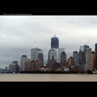 Freedom Tower ... touching clouds