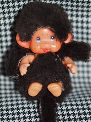 he has real arms:) (Never-to-Old-For-Dolls -And-Toys) Tags: cute fun monkey big dolls small clone monchhichi apen