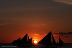 Sunset Boracay (Dodzki) Tags: nikon december pcc 2011 d5000