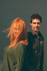 Ana y David La pareja (PUAROT) Tags: color luz sol photography foto gente pareja retrato d70s sombra colores personas fotografia fotografía iluminación 3518 puarot revolutionlight
