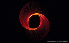 Physiogram 8 - Minimalist (~SteveBaron~) Tags: light red lightpainting abstract painting led minimalist physiogram cycloid physiograms ~repeater~ repeater1