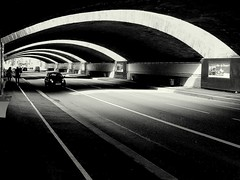 alternate tunnels - ( explored ) (mujepa) Tags: blackandwhite bw france monochrome pattern noiretblanc perspective tunnel nb repetition passage lorraine metz mygearandme blinkagain rememberthatmomentlevel1 rememberthatmomentlevel2 rememberthatmomentlevel3