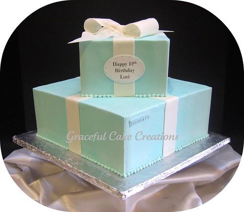 Astounding Tiffany Co Birthday Cake A Photo On Flickriver Funny Birthday Cards Online Benoljebrpdamsfinfo