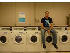 Saturday night laundry. (WayneWho?) Tags: night live room machine saturday laundry bluraygetit