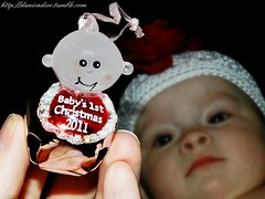 First Christmas  |  Twin 2 (Danica Photography) Tags: christmas flowers girls red baby flower girl photography twins infant babies babygirl fraternal infants redflower fraternaltwins babygirls beaniehat twingirls infantphotography christmasphotography danicadior fraternaltwingirls