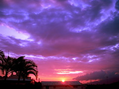 Parking Lot Sunset (belindah-Thank You!-450.000 Views Now) Tags: sky clouds hawaii sunsets maui