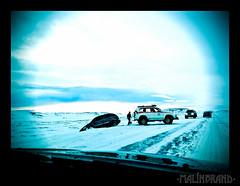 An Icelandic rescue team at work.jpg (maln) Tags: landcruiser blar photohobby fr bjrgunarsveit hellisheii jeppi skafrenningur toyotalandscruiser
