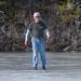 Mark skating on Lake Dulzura at Serene Lakes-05 12-11-11